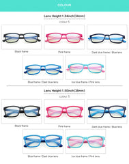 GREY JACK Blue Light Blocking Clear Glasses Classic Rectangle Eyewear for Child S8245267
