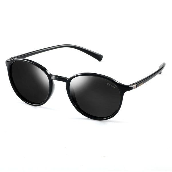 GREY JACK Classic Polarized UV400 Lightweight Vintage Round Fashion Sunglasses For Women Men S1196