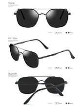 GREY JACK Polarized Square Aviator Sunglasses Polygon for Women Men S1618