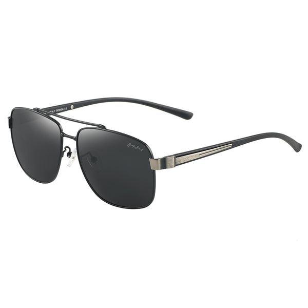 GREY JACK Classic Polarized Square Sunglasses for Men and Women Four Color S1246