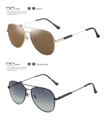 GREY JACK New Arrived Fashion Polarized Classic Aviator Style Sunglasses for Men Women S1233