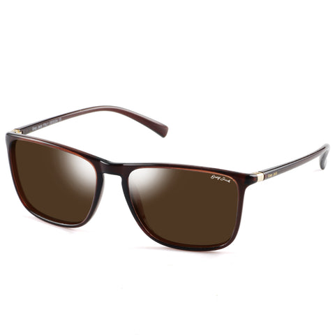GREY JACK Unisex Lightweight Al-Mg Alloy Metal Rimmed Polarized Sports Sunglasses S1140