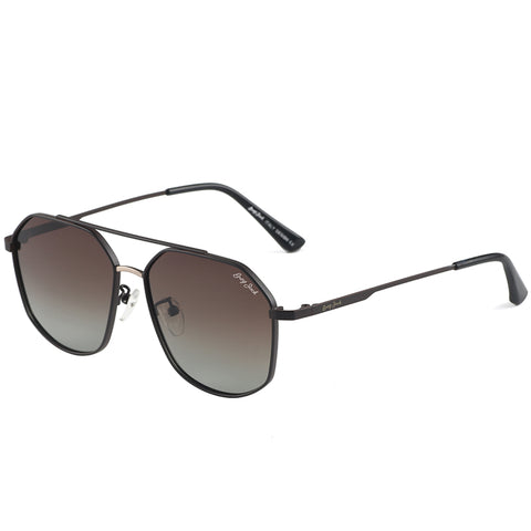 GREY JACK Small Square Polarized Sunglasses for Men and Women Polygon Mirrored Lens S1266