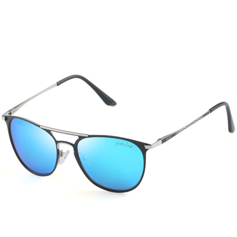GREY JACK Vintage Polarized Sunglasses Round UV Protection for Men Women S1625