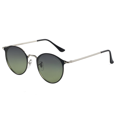 GREY JACK Small Round Polarized Sunglasses Mirrored Lens Unisex Sunglasses S1801