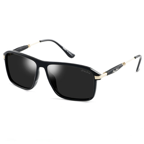 GREY JACK Polarized Sports Sunglasses Al-Mg Alloy Lightweight Half Frame for Men Women S1306