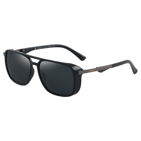 GREY JACK Classic Polarized Square Sunglasses for Men and Women S1261
