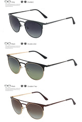 GREY JACK Men Women Retro Vintage Half Metal Frame Cat eye Sunglasses S1624