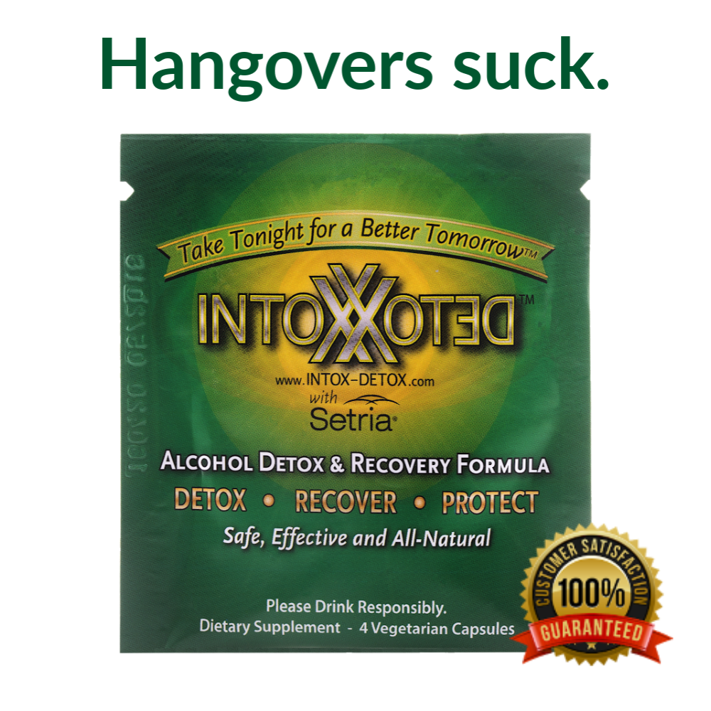 Patented & Clinically Proven Ingredients to Protect Your Liver and Avoid the Misery
