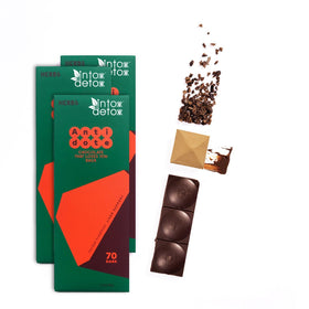 70% Cacao Liver Precovery Dark Chocolate - 3 Bars | NEW!