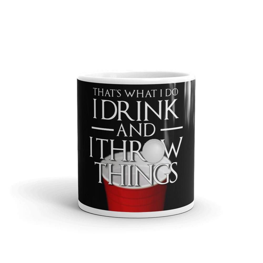 I Drink and I Pong Mug