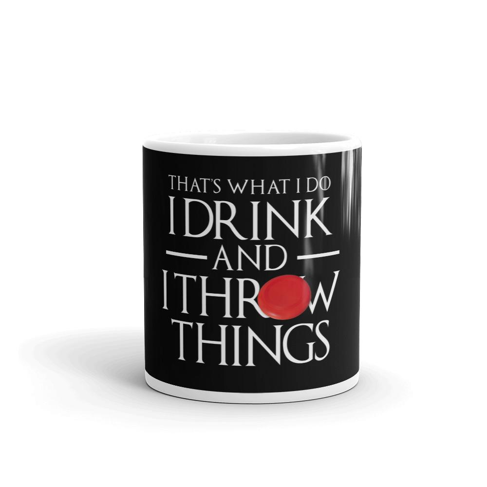 Ultimate Frisbee Drink and Throw Things Mug