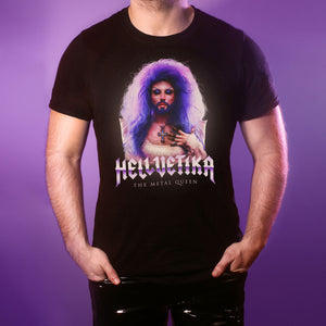 "Hellvetika ""The Metal Queen"" T-Shirt"