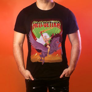 "Hellvetika ""Power of Gayskull"" T-Shirt"