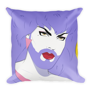 "Hellvetika ""Patrick Nagel"" Pillow"