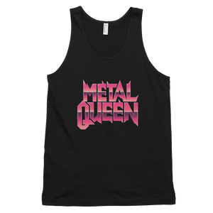 "Metal Queen ""Pink Chrome"" Tank"