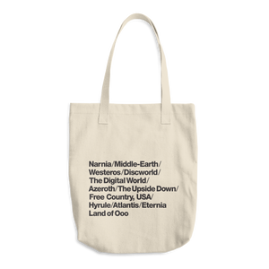 Fantasy Worlds Tote