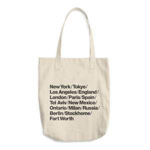 World Traveler Tote