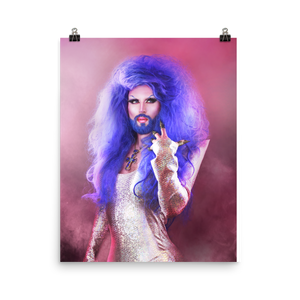"Hellvetika ""Hair Metal"" Print"