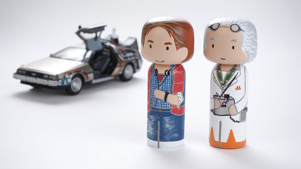 Any Back To The Future Fans out there?  Here is one to add to your collection.