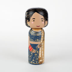 Indian Sarees peg doll
