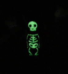 Glow in the Dark Peg doll necklace and ornament