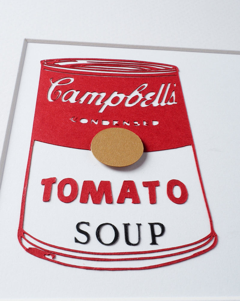 Andy Warhol -Campbell Soup Mini Kokeshi (Limited Edition)