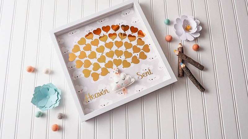 Heaven Sent Cloud Shower Guestbook