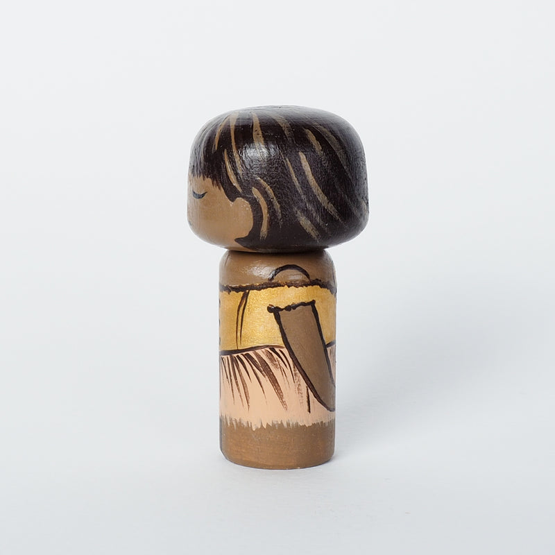 Degas Mini Kokeshi - Little Dancer of Fourteen Years (Limited Edition)