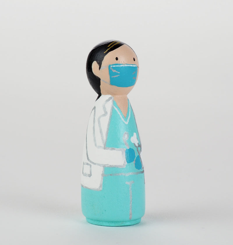 Occupational gift - Dentist Peg Dolls