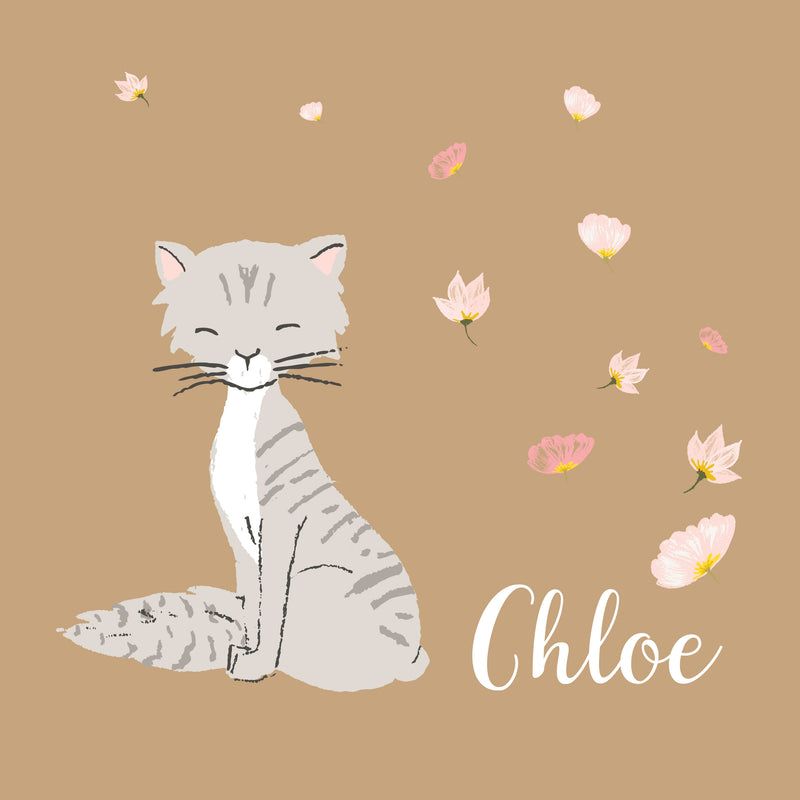 Personalized cat portrait