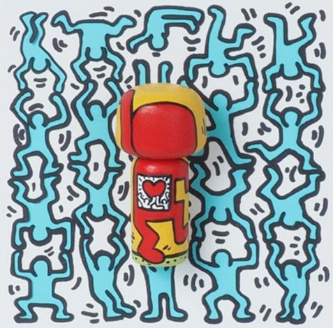 Keith Haring Mini Kokeshi (Limited Edition)
