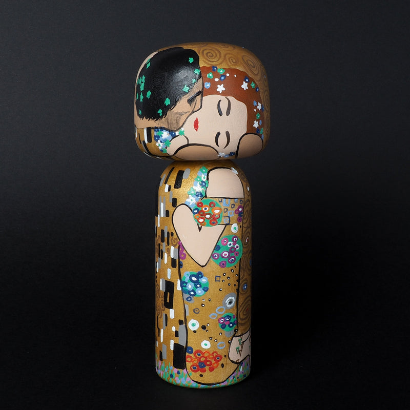 Klimt Kokeshi - The Kiss (Limited Edition)