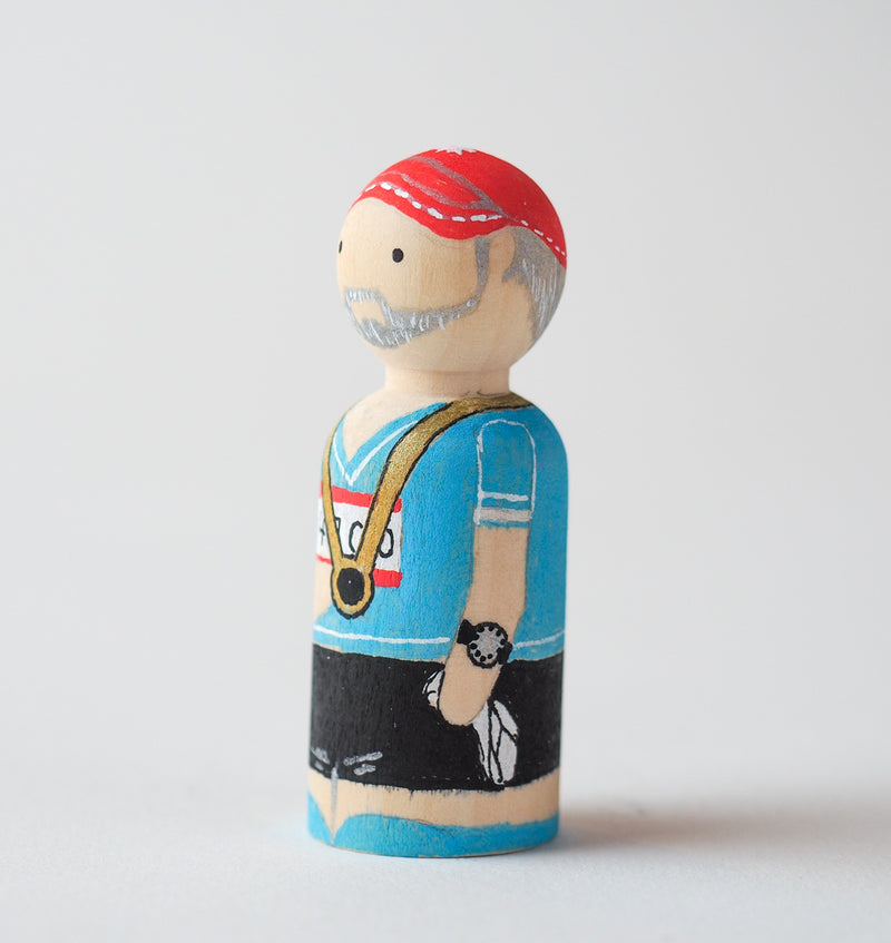 Marathon runners - Peg Dolls - couples gift