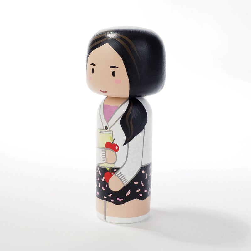 Teacher - Occupational and family portrait Kokeshi dolls!  Give something unique and personalized.  Customize an occupation of your family, friends, or colleagues on Kokeshi dolls!  They are hand-painted with love that show the uniqueness of each individual.