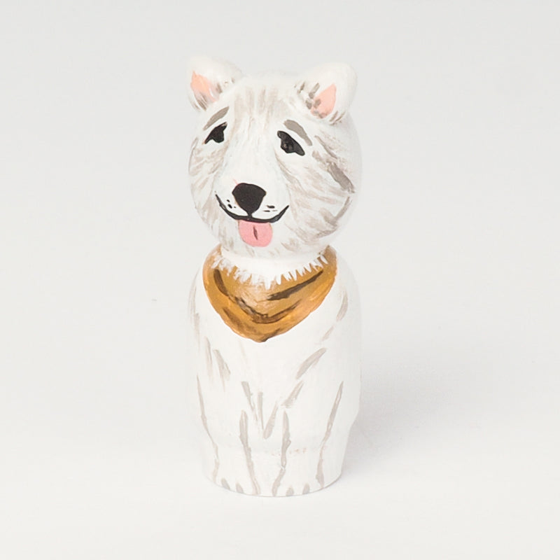 dog peg doll