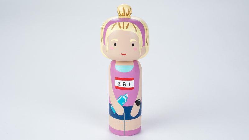 Sample Sale!  These sample Kokeshi dolls are as-is.     Introducing our hobby and occupational Kokeshi dolls!  Give something unique or add to your Kokeshi collections! They are hand-painted with love.