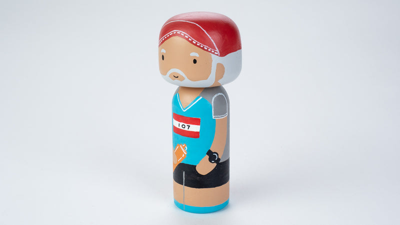 Runner - Hobby and Occupational Kokeshi Dolls