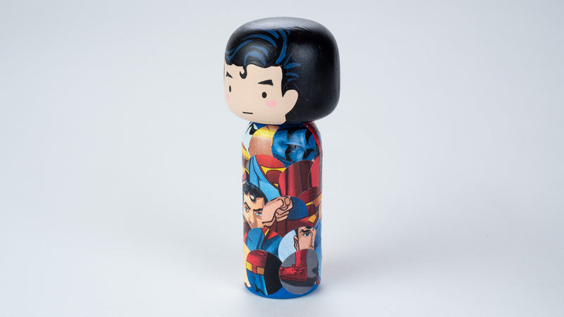 Introducing our new upcycled superhero Kokeshi dolls!  These Kokeshi are made using used comics or books and are carefully hand-painted to match the character and theme of the books.  We spark the joy back of used books and upcycle it to something that is unique and personalized.  They are all truly one of a kind.