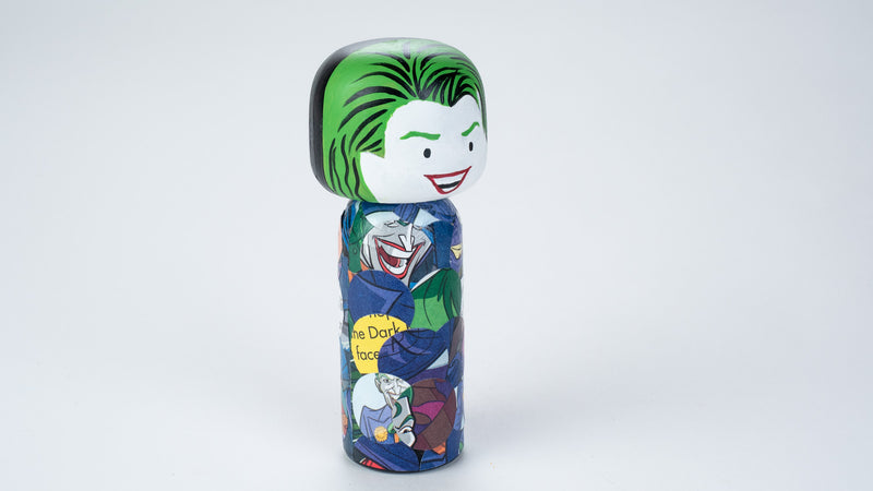 Introducing our new upcycled superhero 2-in-2 Kokeshi dolls!  These Kokeshi are made using used comics or books and are carefully hand-painted to match the character and theme of the books.  On one side, it is one character and turn it around and you'll find another character.  We spark the joy back of used books and upcycle it to something that is unique and personalized.  They are all truly one of a kind.