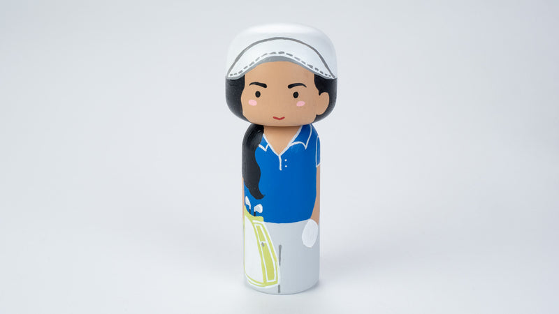 Golfer - Hobby and Occupational Kokeshi Dolls