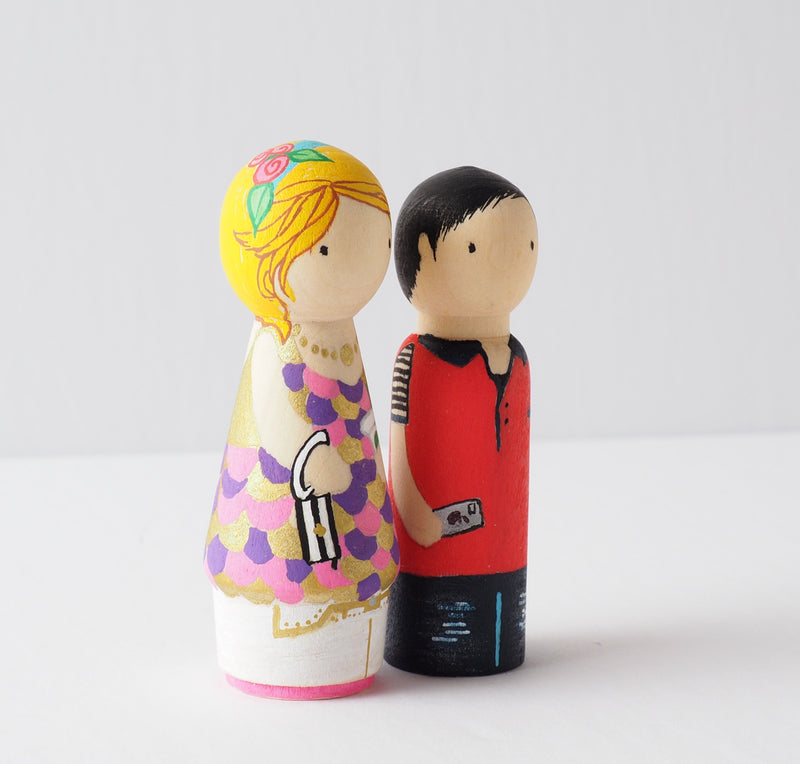 Family Peg Dolls
