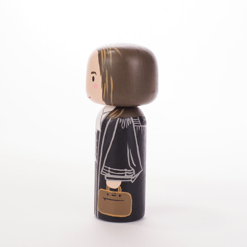 Lawyer - Occupational and family portrait Kokeshi dolls!  Give something unique and personalized.  Customize an occupation of your family, friends, or colleagues on Kokeshi dolls!  They are hand-painted with love that show the uniqueness of each individual.