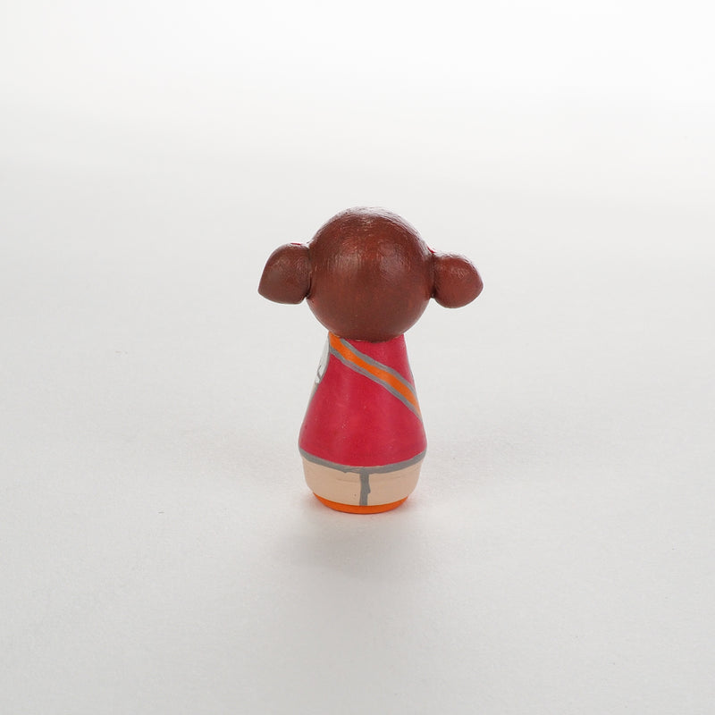 Give something unique and personalized.  Custom peg dolls of your family!  They are hand-painted that show the uniqueness of each individual in your family.  This will definitely touch the heart and bring smiles, may be even happy tears to your family.