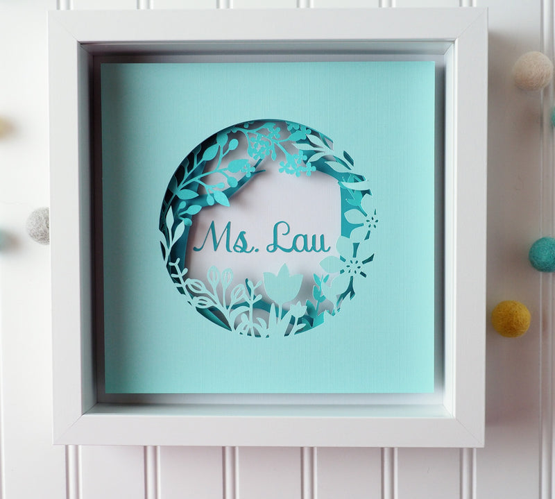Personalized Teacher's gift - Christmas gift