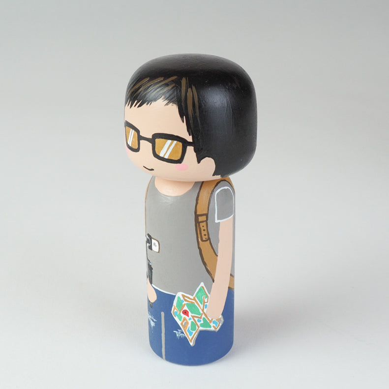 Traveller- Hobby and Occupational Kokeshi Dolls