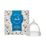 Model 4 JuJu Menstrual Cup for a low cervix