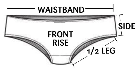Underwear Size Measurement