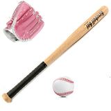 1 Baseball, Bat & Glove Set