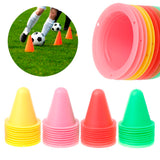 10 Pcs Soccer Speed Training Equipment
